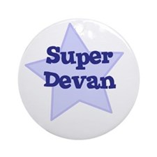 Super Devan Ornament (Round)