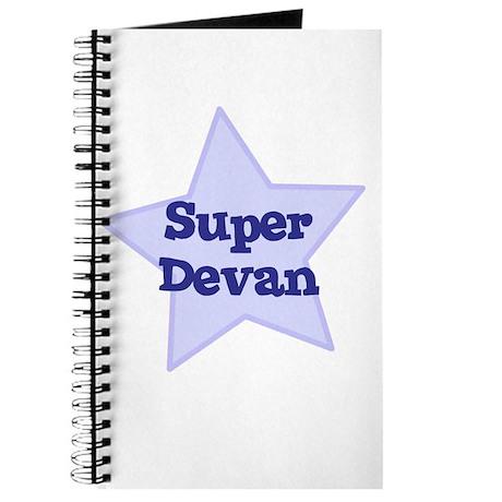 Super Devan Journal