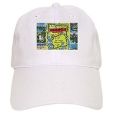 1940's City of Lakes and Parks Baseball Cap