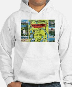 1940's City of Lakes and Parks Hoodie