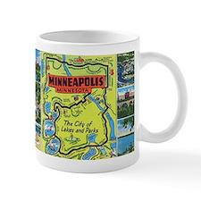 1940's City of Lakes and Parks Mug