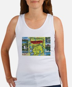 1940's City of Lakes and Parks Women's Tank Top