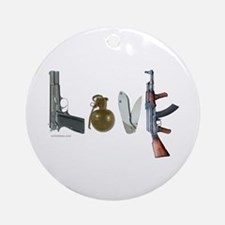 SECOND AMENDMENT Ornament (Round)