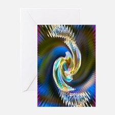 Crystal Bead 2 Image Greeting Cards (Pk of 10)