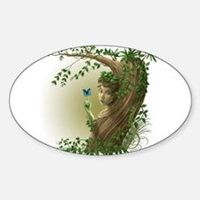 Nature Spirit #2 Oval Decal