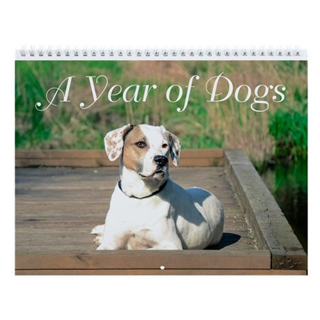 A Year Of Dogs Wall Calendar