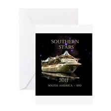 SOUTHERN STARS - Greeting Card