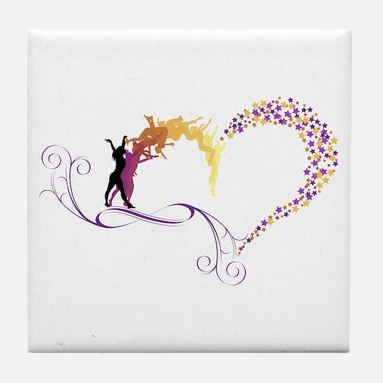 Unique Scroll Tile Coaster