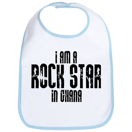 Rock Star In Ghana Bib