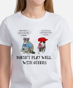 Doesn't Play Well Women's T-Shirt