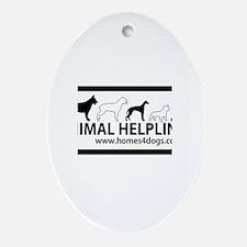 Animal Helpline Oval Ornament