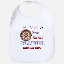 Proud Brother Bib