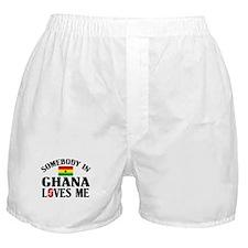 Somebody In Ghana Boxer Shorts