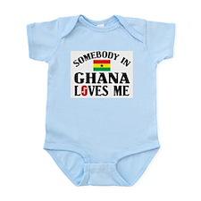 Somebody In Ghana Infant Creeper