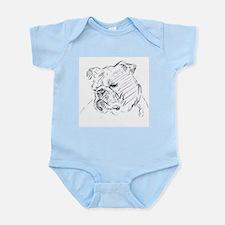 Bulldog Infant Creeper