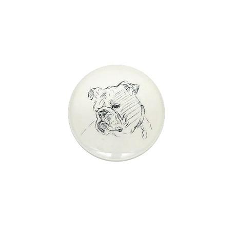 Bulldog Mini Button (100 pack)