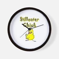 Stillwater Chick Wall Clock
