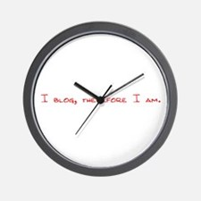 I Blog Wall Clock