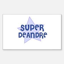 Super Deandre Rectangle Decal