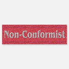 Artistic Non-Conformist Bumper Bumper Sticker