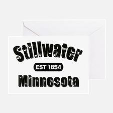 Stillwater Established 1854 Greeting Card