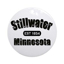 Stillwater Established 1854 Ornament (Round)