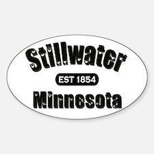 Stillwater Established 1854 Oval Decal