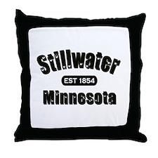 Stillwater Established 1854 Throw Pillow