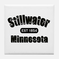 Stillwater Established 1854 Tile Coaster