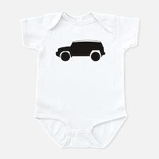 FJ Cruiser Outline Infant Bodysuit