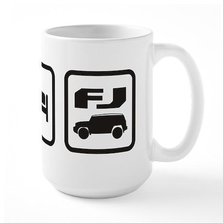 Eat sleep FJ! Large Mug