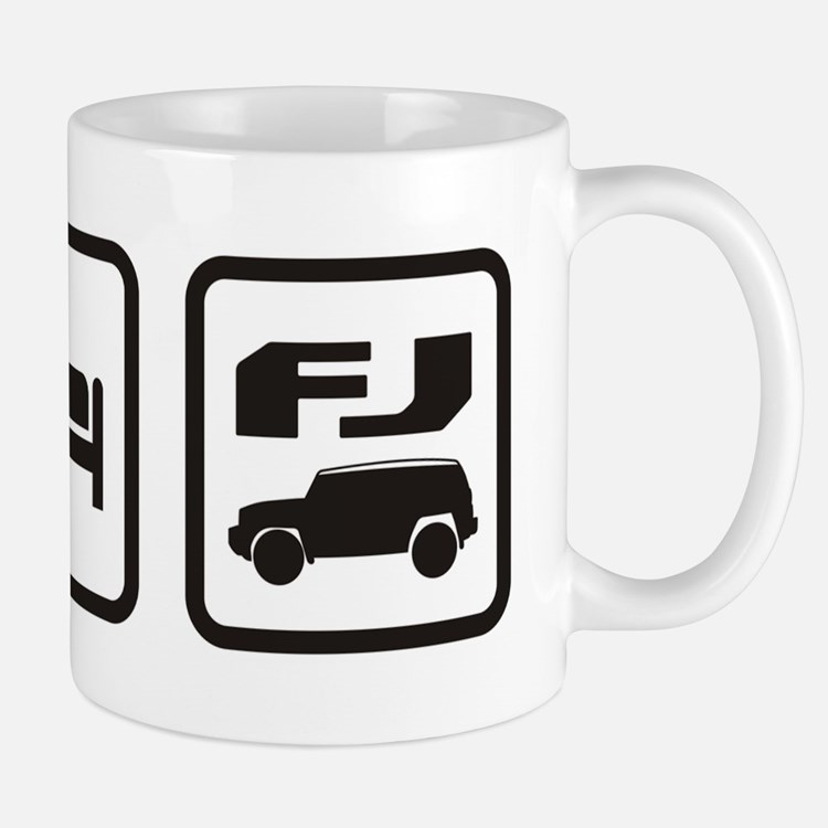 Eat sleep FJ! Mug