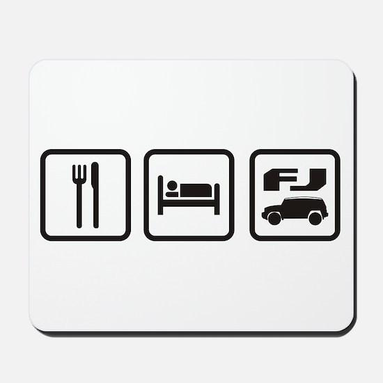 Eat sleep FJ! Mousepad