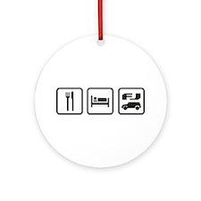 Eat sleep FJ! Ornament (Round)