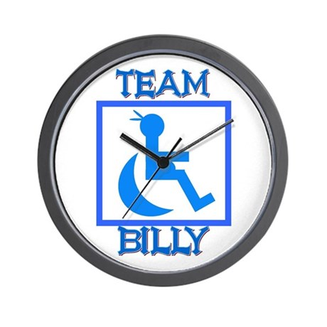 Team Billy Wall Clock