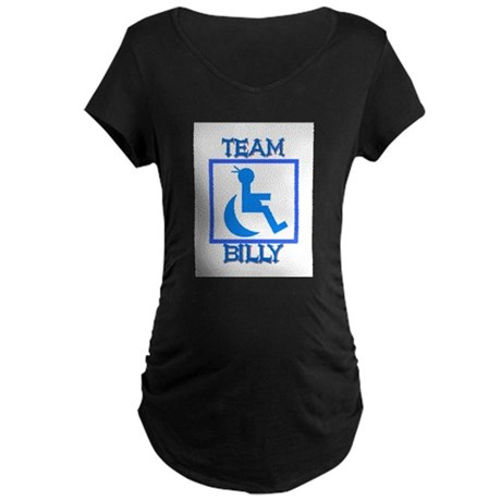 Team Billy Maternity Dark T-Shirt