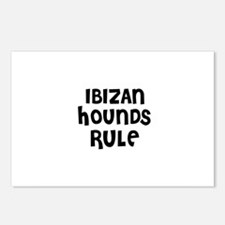 IBIZAN HOUNDS  RULE Postcards (Package of 8)