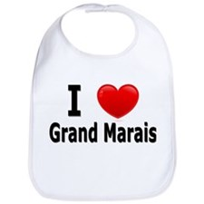 I Love Grand Marais Bib