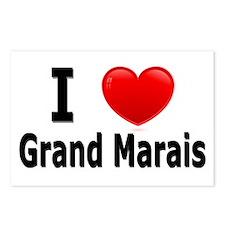 I Love Grand Marais Postcards (Package of 8)