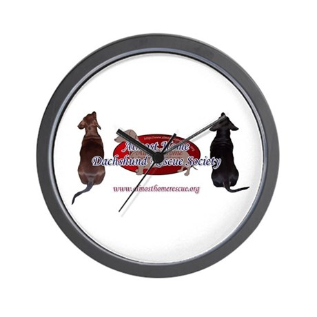 3 Dog AHDRS Logo Wall Clock