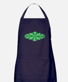 Green Illusion Apron (dark)