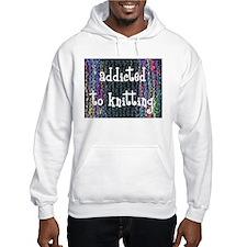 Knitting tote Hoodie
