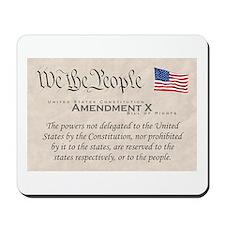 Amendment X Mousepad