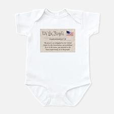 Amendment X Infant Bodysuit