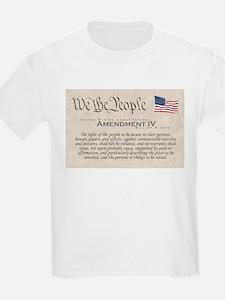 Amendment IV T-Shirt