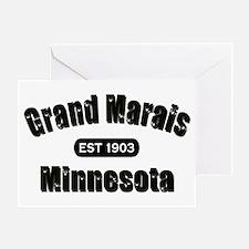 Grand Marais Established 1903 Greeting Card