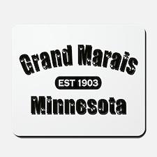 Grand Marais Established 1903 Mousepad