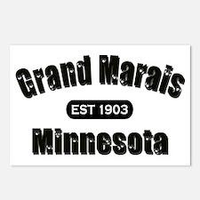 Grand Marais Established 1903 Postcards (Package o