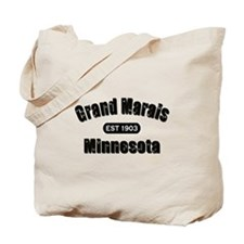 Grand Marais Established 1903 Tote Bag