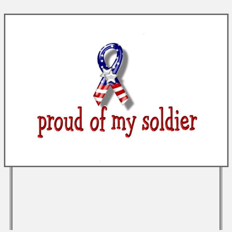 Proud of my Shoulder Yard Sign